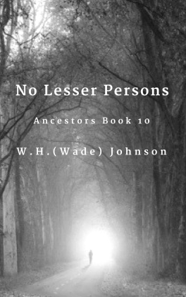 No Lesser Persons Cover