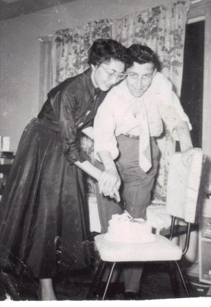 Helen and Harold anniversary